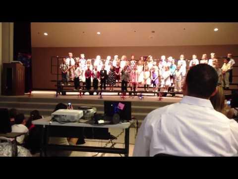 Peoria Traditional School kindergarten Graduation Program