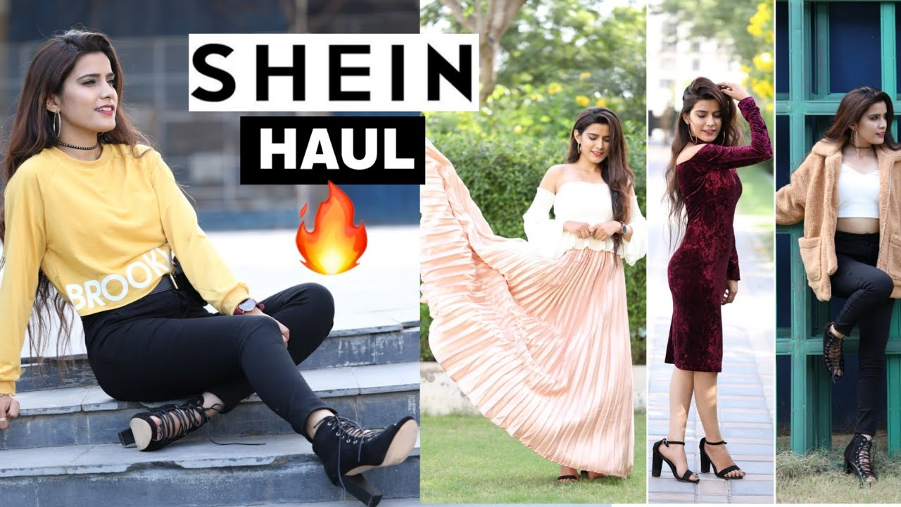 a55992e88e11 Huge SHEIN Anniversary Haul | 🔥 Super Style Tips - YouTube