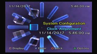Playstation 2 - Inserting a Memory Card for the first time