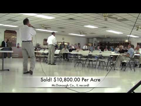Sullivan Auctioneers, LLC's land auctions early fall 2011