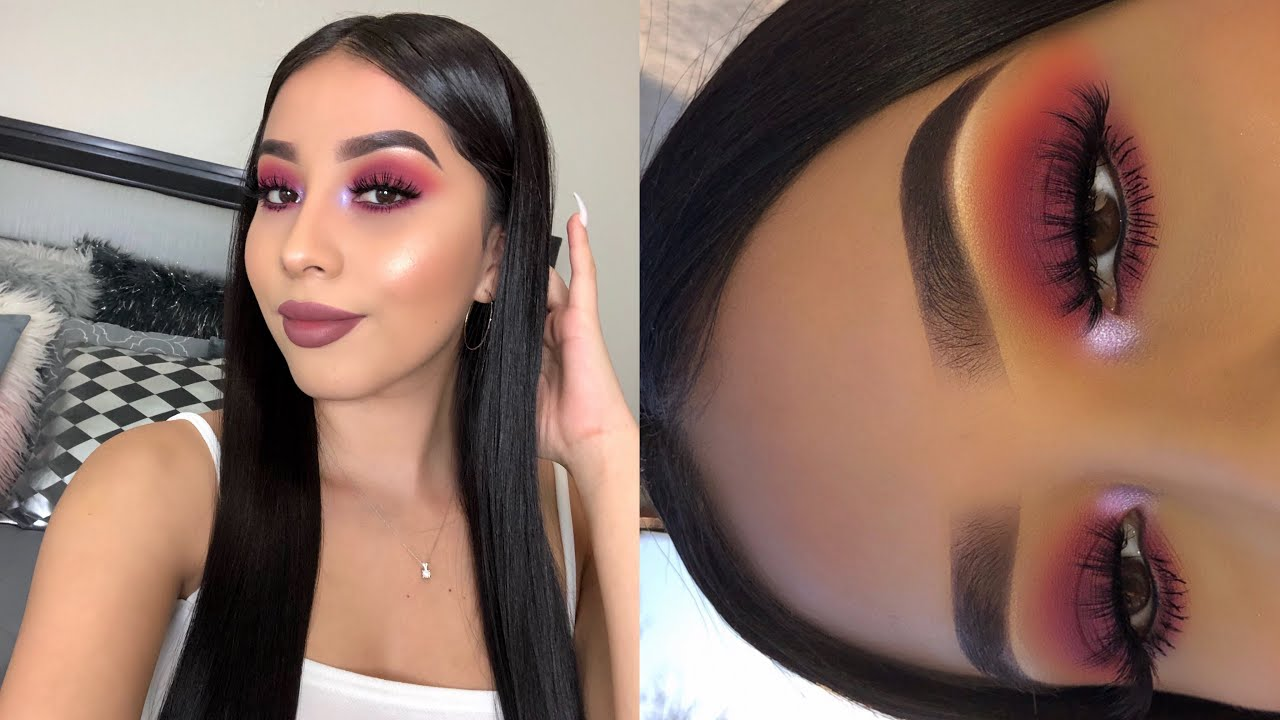 Andreea Reyes spring makeup ft. daisy marquez palette | jocy reyes
