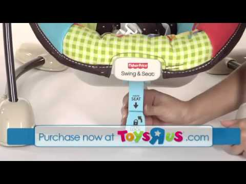 fisher price space saver swing and seat manual