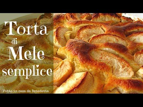 torta di mele semplice fatta in casa da benedetta easy
