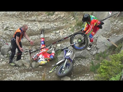 [FIM Trial 2016 Gefrees] Fail and Crash Compliation Section 11, 7 and 10