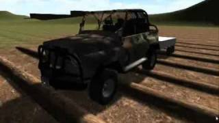 4x4 Differencial Club (PC game) Unity 3D Test podveski