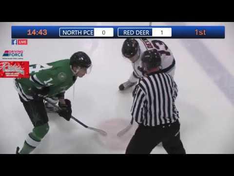 Game 5 Of The Junior B Provincials NP Navigators Vs Red Deer Vipers