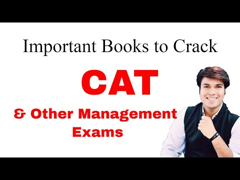 Important Books to Crack CAT & Other Management Exams | Common Admission Test | Edutorial