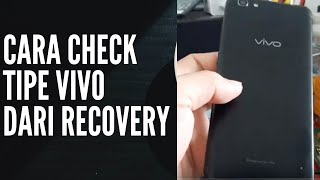 Cara terbaru Cek Tipe Hp Vivo yang Terkunci Pin // Pola.