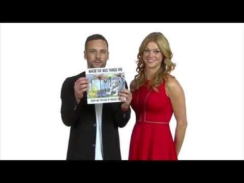 Nick Blood & Adrianne Palicki Speed Read for First Book