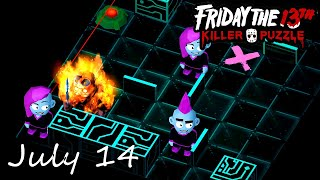 Friday the 13th Killer Puzzle Daily Death July 14 2020 Walkthrough