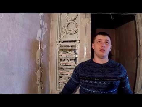 Электрика в Подольске. Электромонтаж без распаечных коробок, до штукатурки.