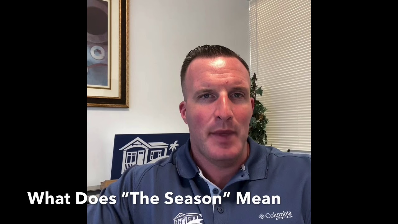 "What Does ""The Season""  Mean For Sarasota Mobile Homes?"