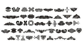 Black Ornaments Three Font Download