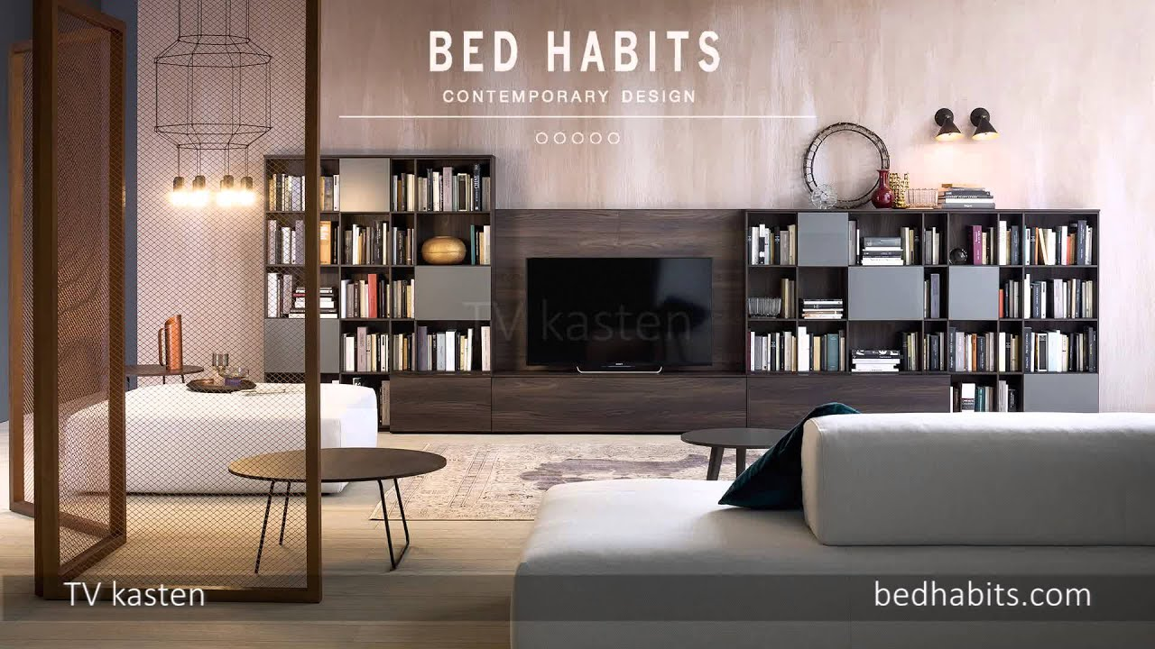 Wandkast Met Bed.Wandkast Inspiratie Bed Habits Amsterdam Youtube