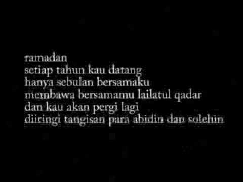 Puisi Ramadan Youtube