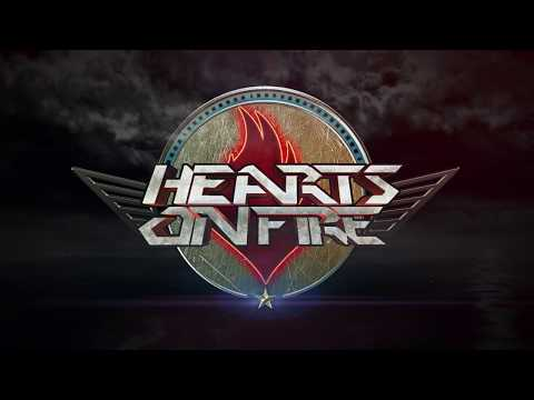 HEARTS ON FIRE - Hearts on Fire (Lyric Video by Rolox)