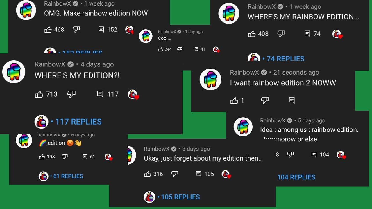 RainbowX VS. Woken