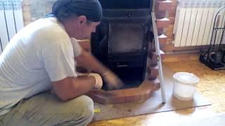 видео Отзывы про печь камин Ангара Аква с водяным контуром