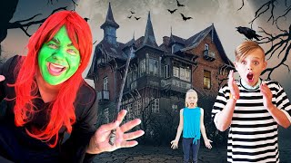 Escape the Sneaky Babysitter's Mansion! Babysitter Showdown with Kinetic Sand!