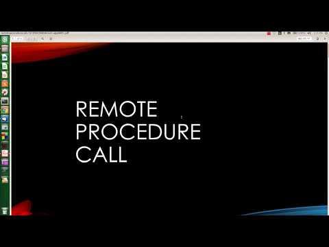 شرح Remote Procedure Call RPC للشبكات وانظمة التشغيل الموزعة