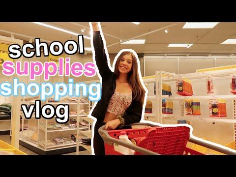 SCHOOL SUPPLIES SHOPPING 2019!! VLOG
