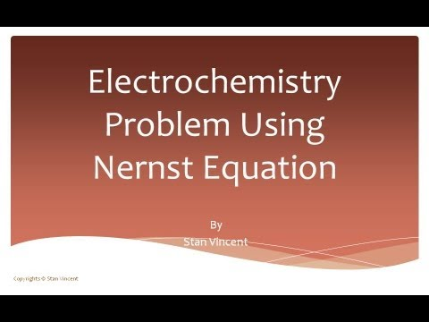Electrochemistry | Stan's Page