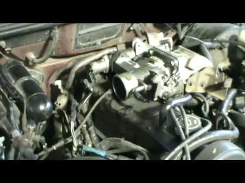 Cleaning Ford Ranger 23l Throttle Body - YouTube