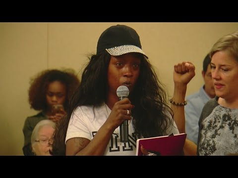 Philando Castile's Girlfriend Speaks Out At St. Paul Community Meeting