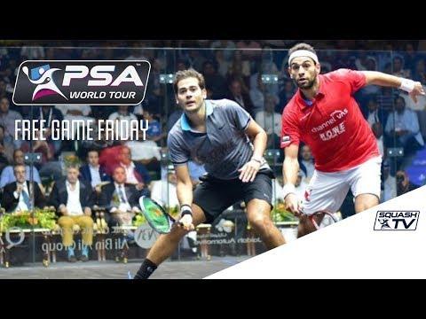 Squash - Free Game Friday - ElShorbagy v Gawad - Qatar Classic 2016 Final