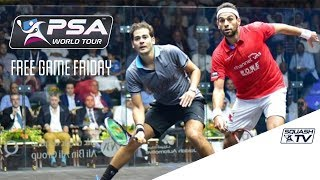 Squash - Free Game Friday - ElShorbagy v Gawad - Qatar Classic 2016 Final