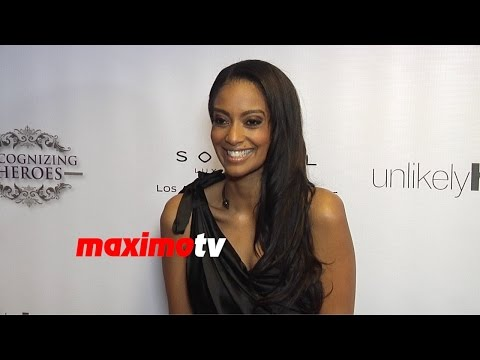 Azie Tesfai  2014 Unlikely Heroes Awards Gala  Red Carpet