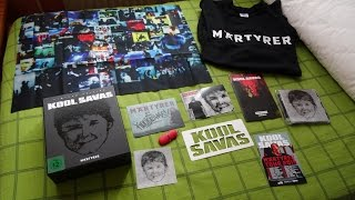 Kool Savas - Märtyrer - Deluxe Box - UNBOXING