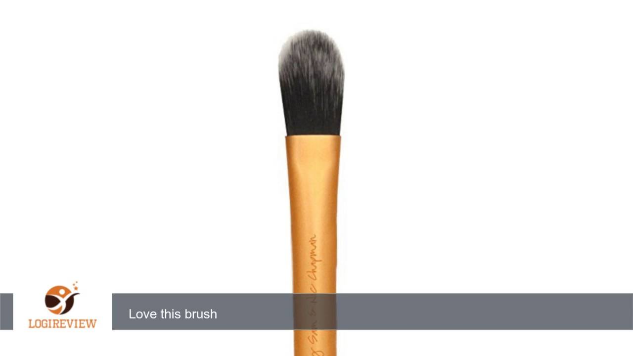 foundation brush real techniques. real techniques collection face pointed foundation brush: liquid or powder concealer | brush
