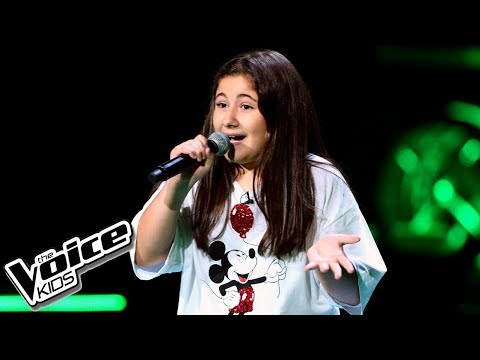 "Milena Grigorian – ""All About That Bass"" – Przesłuchania w ciemno – The Voice Kids Poland"