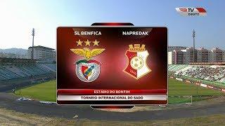 Benfica x Napredak (Particular - 10.07.2018)