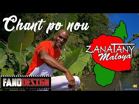 Zanatany Maloya - Chant po nou [CLIP OFFICIEL] By FanoDesign #4K - 동영상