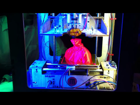 3D Printer In Action At SIGGRAPH 2011 In Vancouver