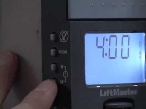 Liftmaster 3800 Installation Instructions Set Smart