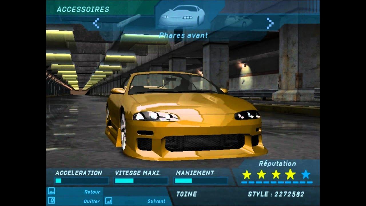 2003 Mitsubishi Eclipse >> [Need For Speed Underground] Brian - Mitsubishi Motors ...