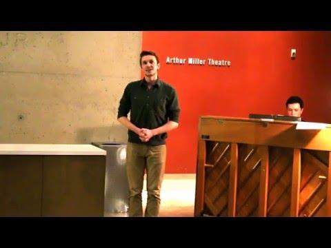 I'll Be Here - David Barnes - University of Michigan - Boys Will Be Boys