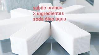 Faça Sabão Branco com 3 Ingredientes