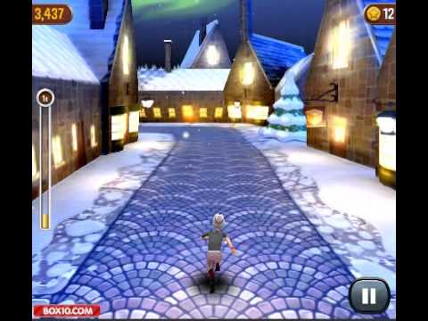 Angry Gran Run: Christmas Village - Free Online PC game 2013