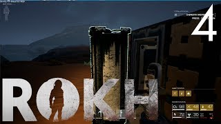 OXYGEN PRODUCTION AND STORAGE | ROKH Early Access Mars Survival Game | Part 4
