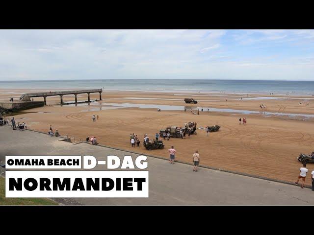 Omaha Beach D-dag Normandiet