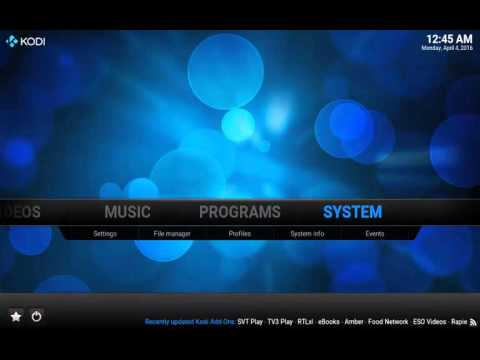 Kodi Merlin Build - How To Install The Merlin Build For Kodi