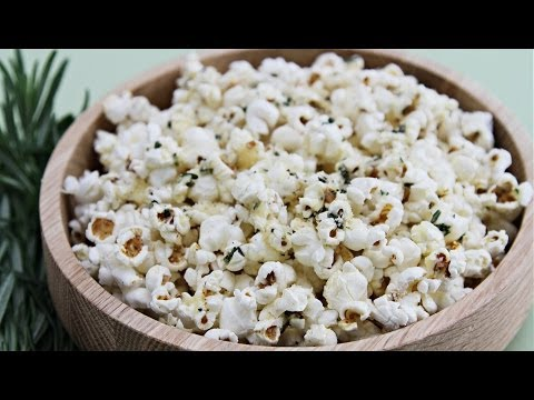 Popcorn With Rosemary Butter and Parmesan | HuffPost Life