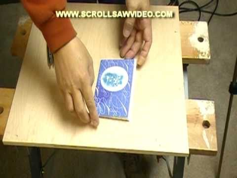 How To Woodworking Making A Jigsaw Puzzle With A Scroll Saw