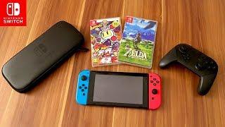 Nintendo Switch & Zubehör - 72 Stunden Test Fazit