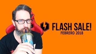 Ya llegó la FLASH SALE de Febrero 2018