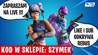 ????CUSTOMY/SOLO W FORTNITE ZAGADKA ZA 20PSC❓ - Na żywo
